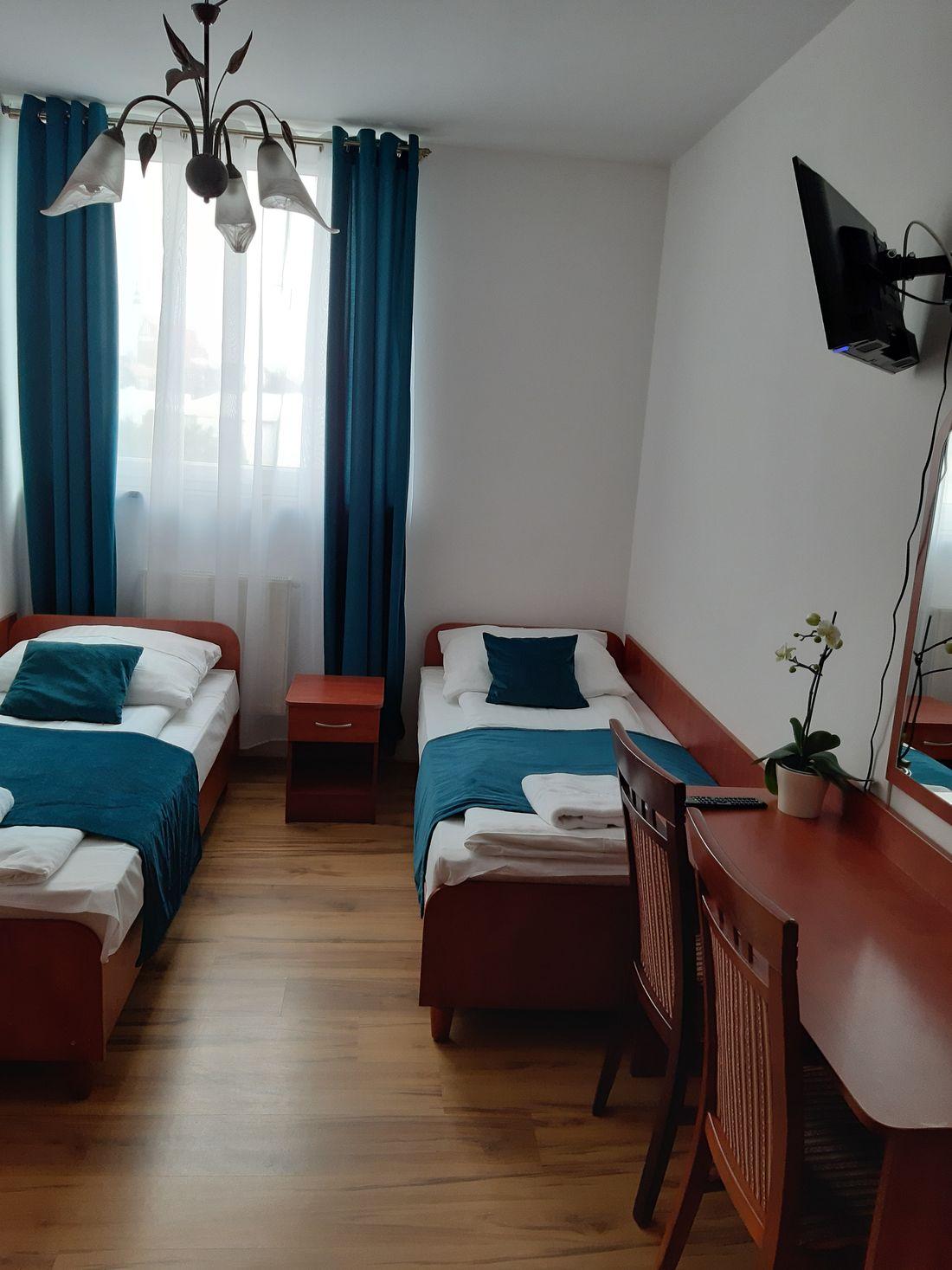 Pokój 4 osobowy w hotelu