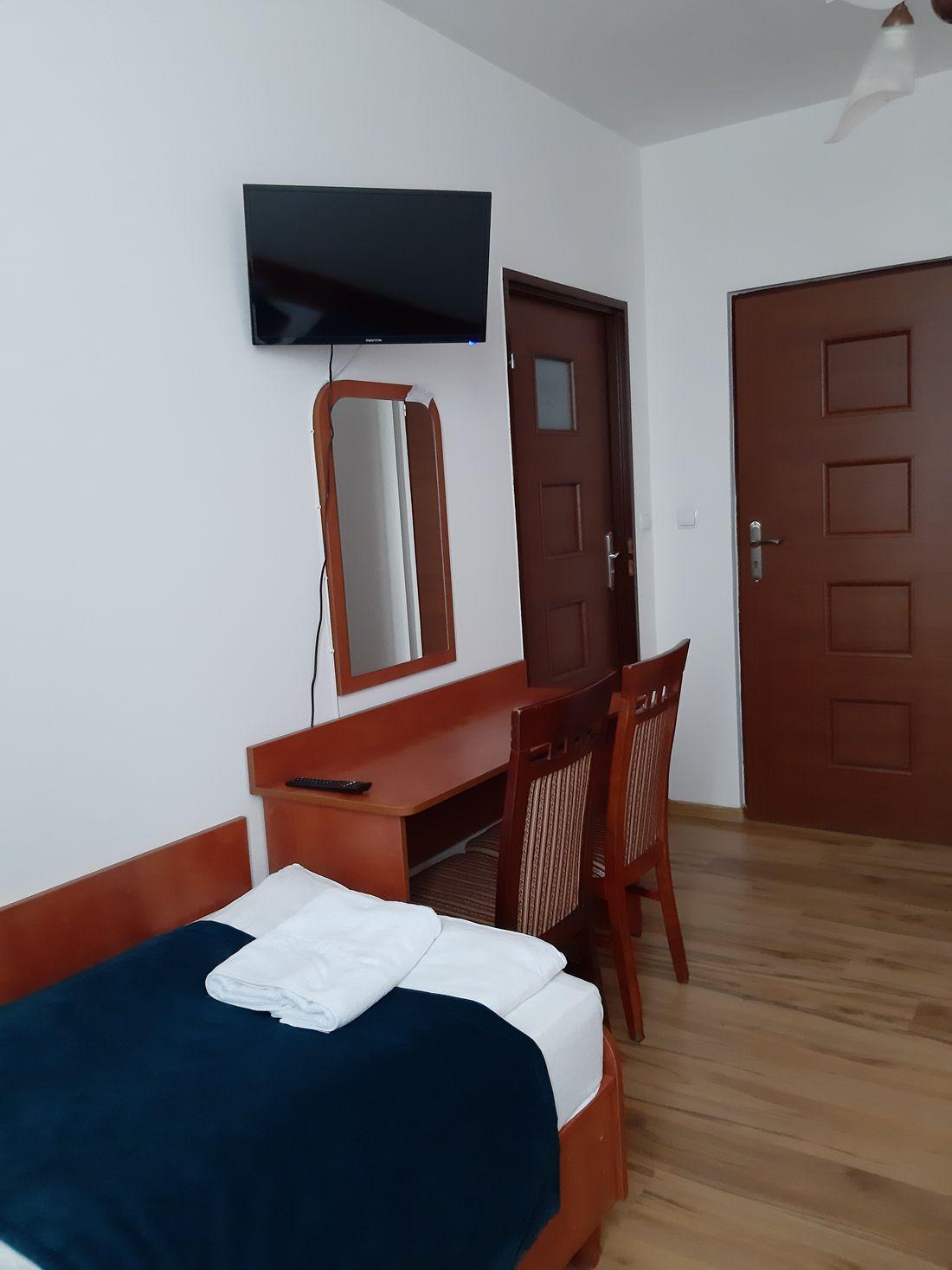 Pokój 1 osobowy w hotelu
